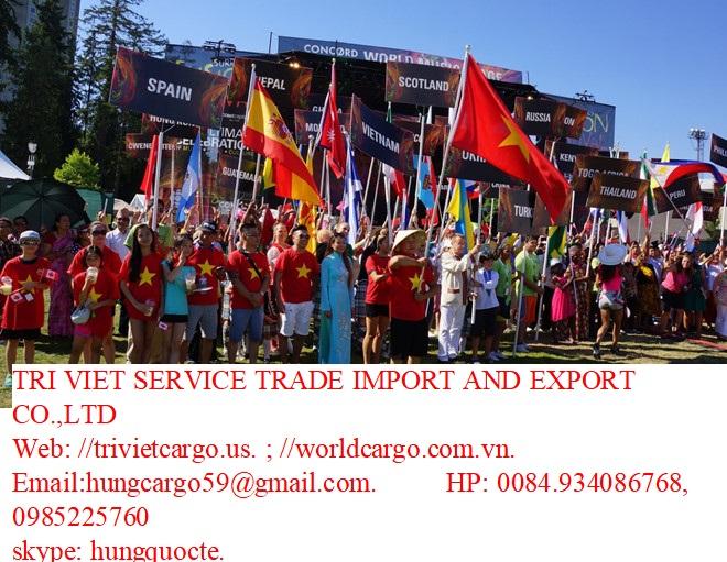 Gửi hàng đi mỹ, trí việt cargo 0932170737
