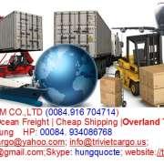 Giá cước vận chuyển đường biển – TRIVIETEXIMCO.,LTD